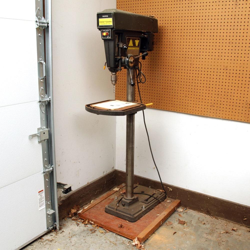 """Sears Craftsman 15 1/2"""" Drill Press"""