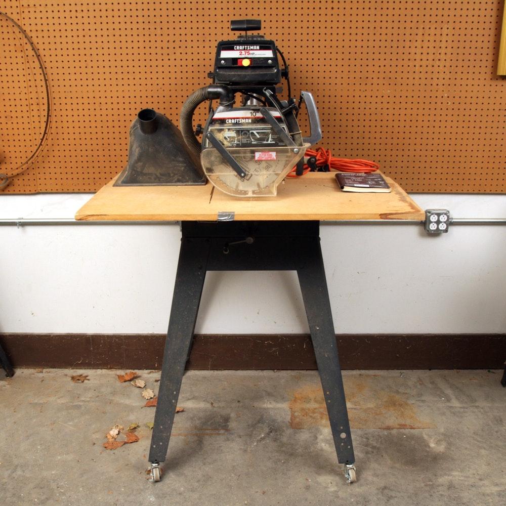"Craftsman 2.75 HP 10"" Radial Table Saw"