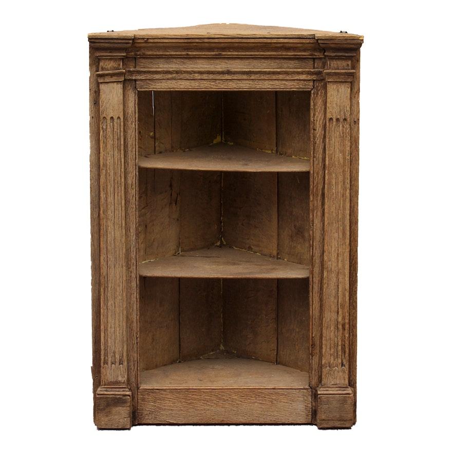Antique Corner Cabinet ... - Antique Corner Cabinet : EBTH