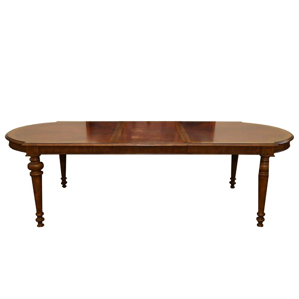 Captivating English Regency Style Dining Table ...
