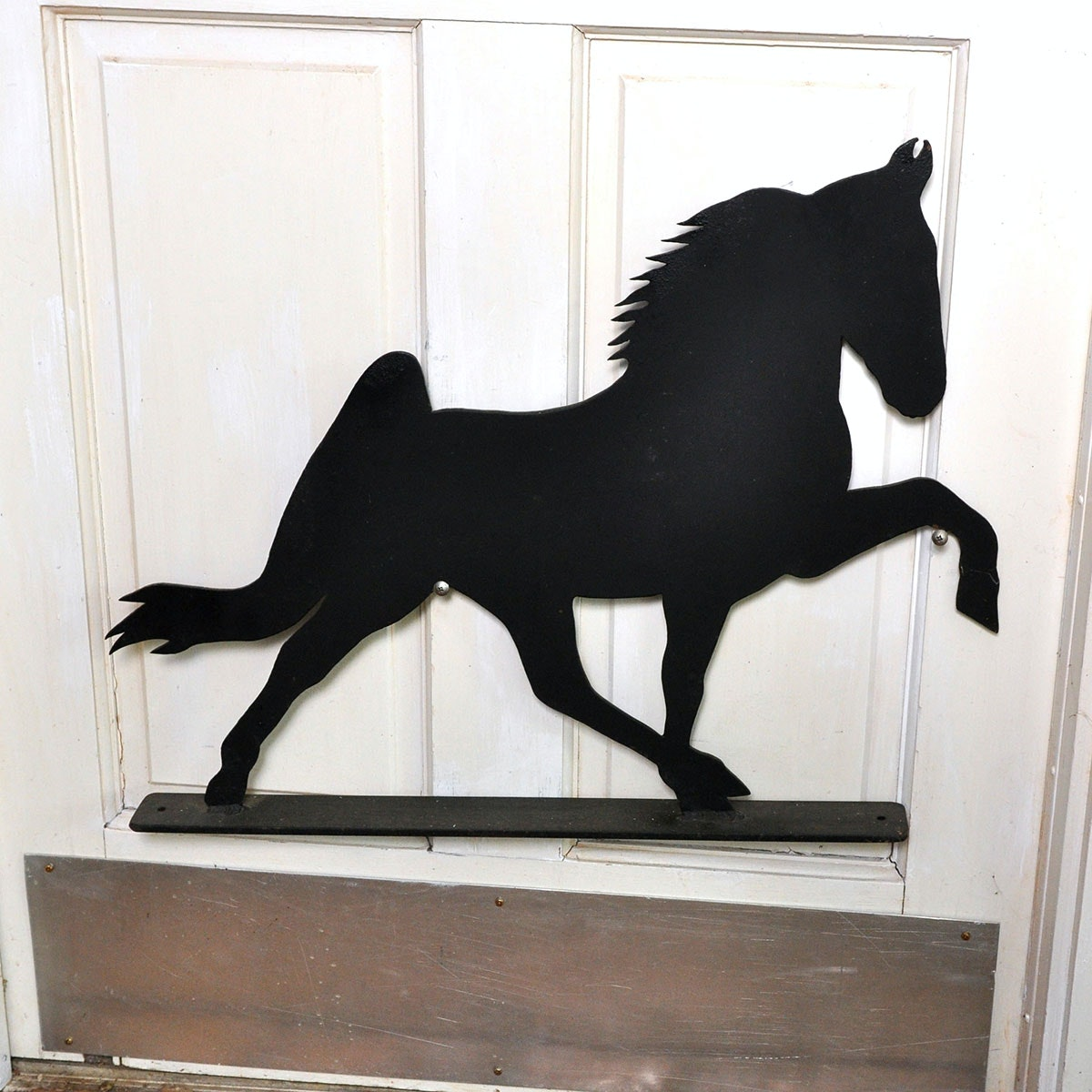 Black Iron Tennessee Walking Horse Wall Sculpture