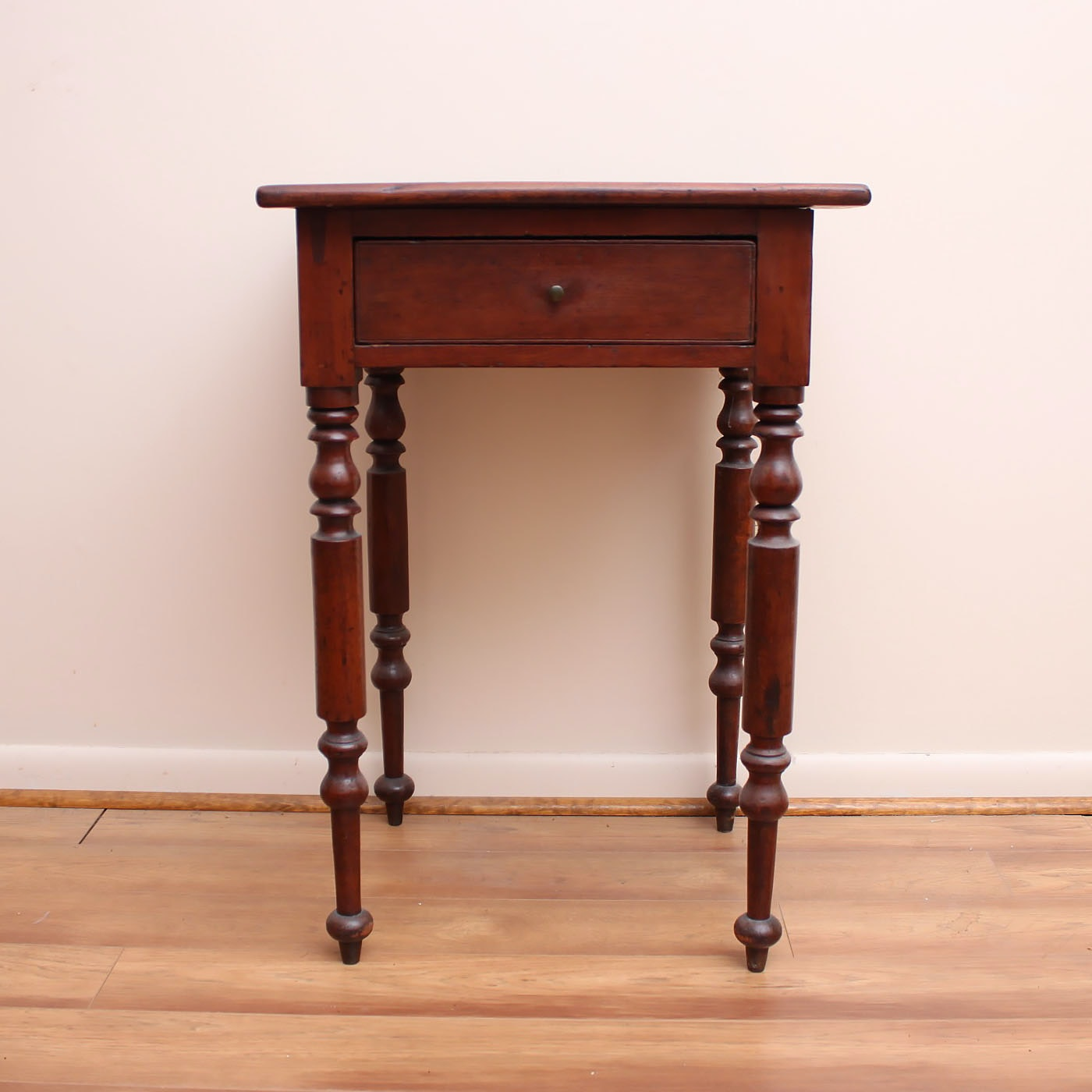 Antique Federal Cherry Side Table