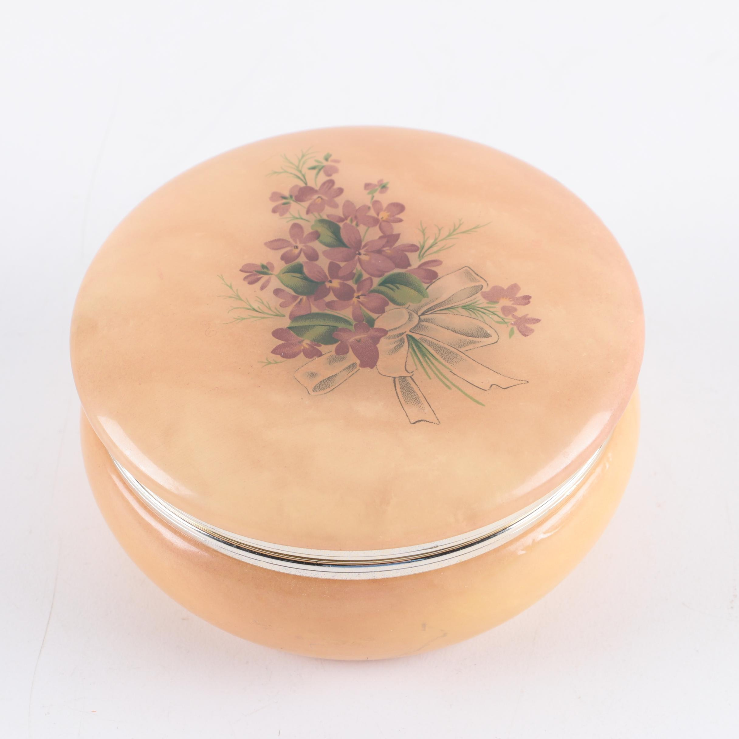 Italian Hand Made Trinket Box