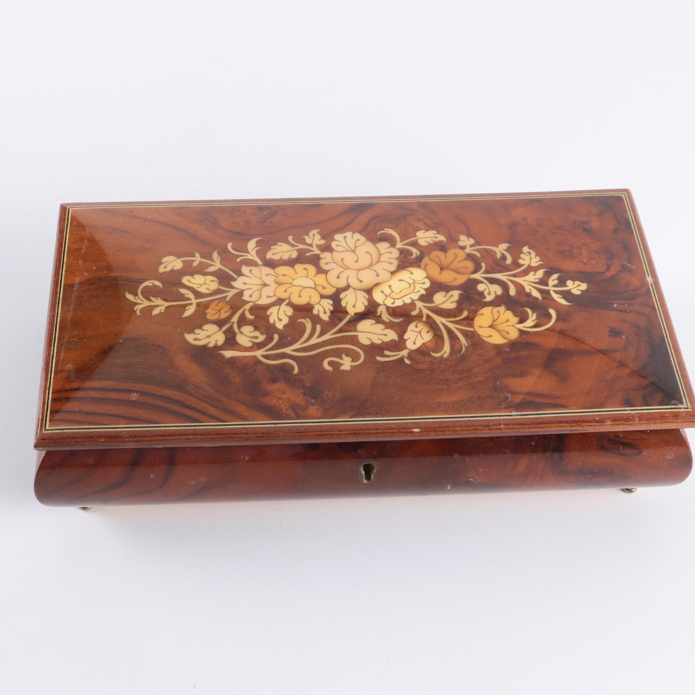 Italian Wooden Music Box