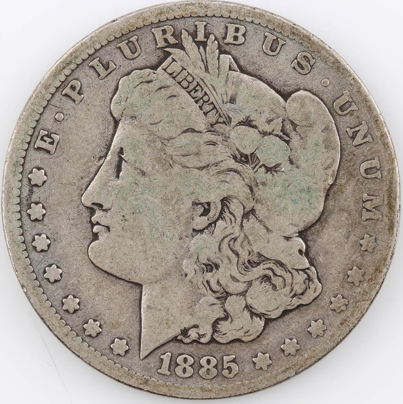 1885 Carson City Silver Morgan Dollar