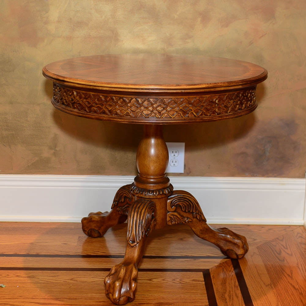 Empire Style Drum Table