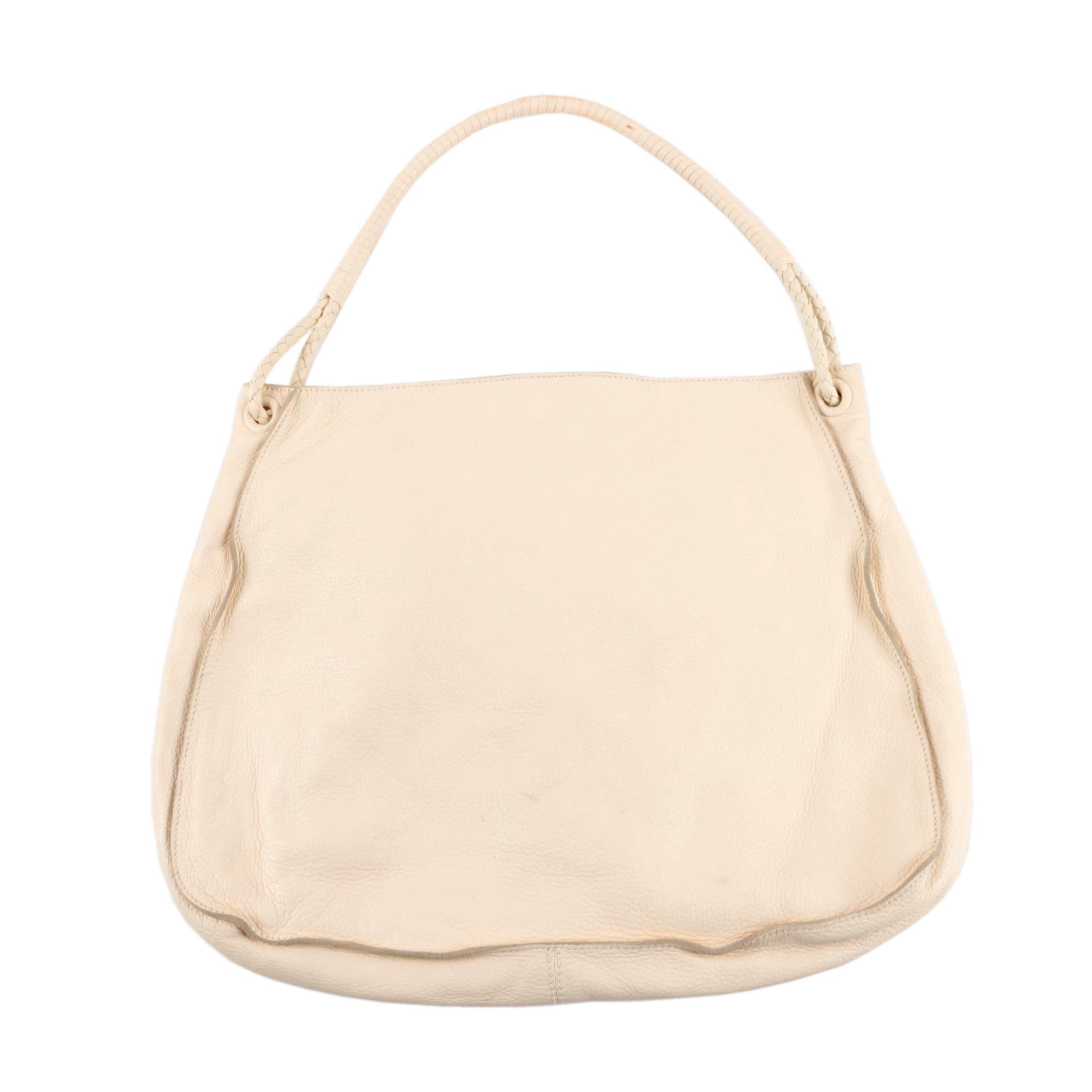 Bottega Veneta Grained Leather Handbag