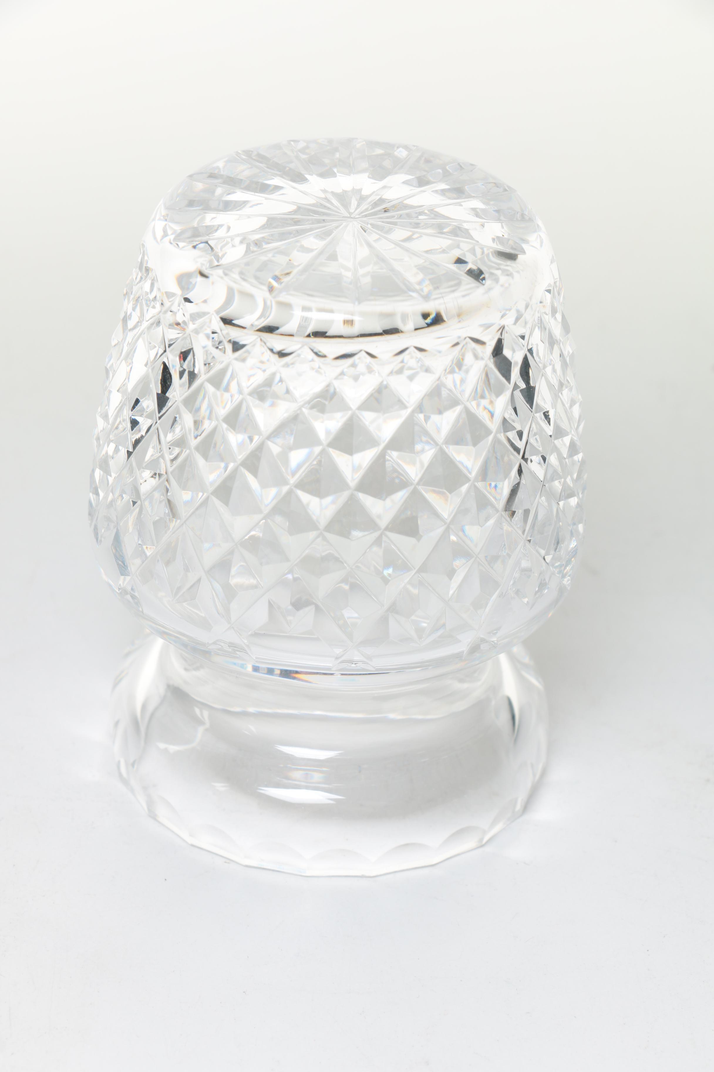 Waterford Crystal Condiment Jar Ebth