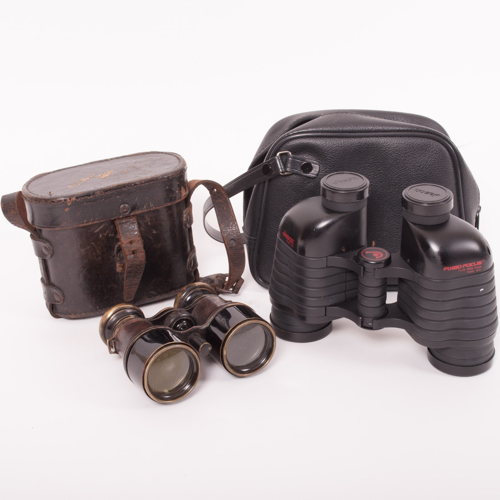 Antique Binoculars and Jason Model 1195 Binoculars
