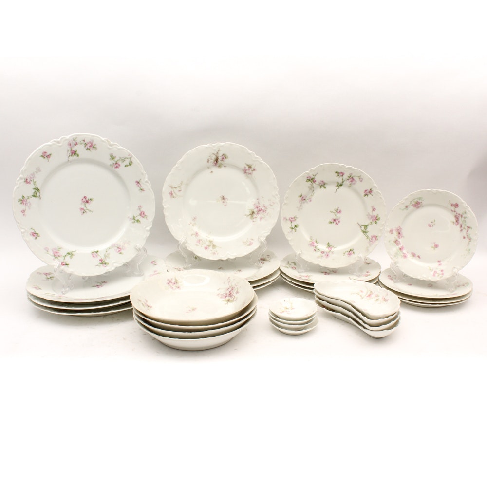 Haviland & Co. Limoges Porcelain Dish Set