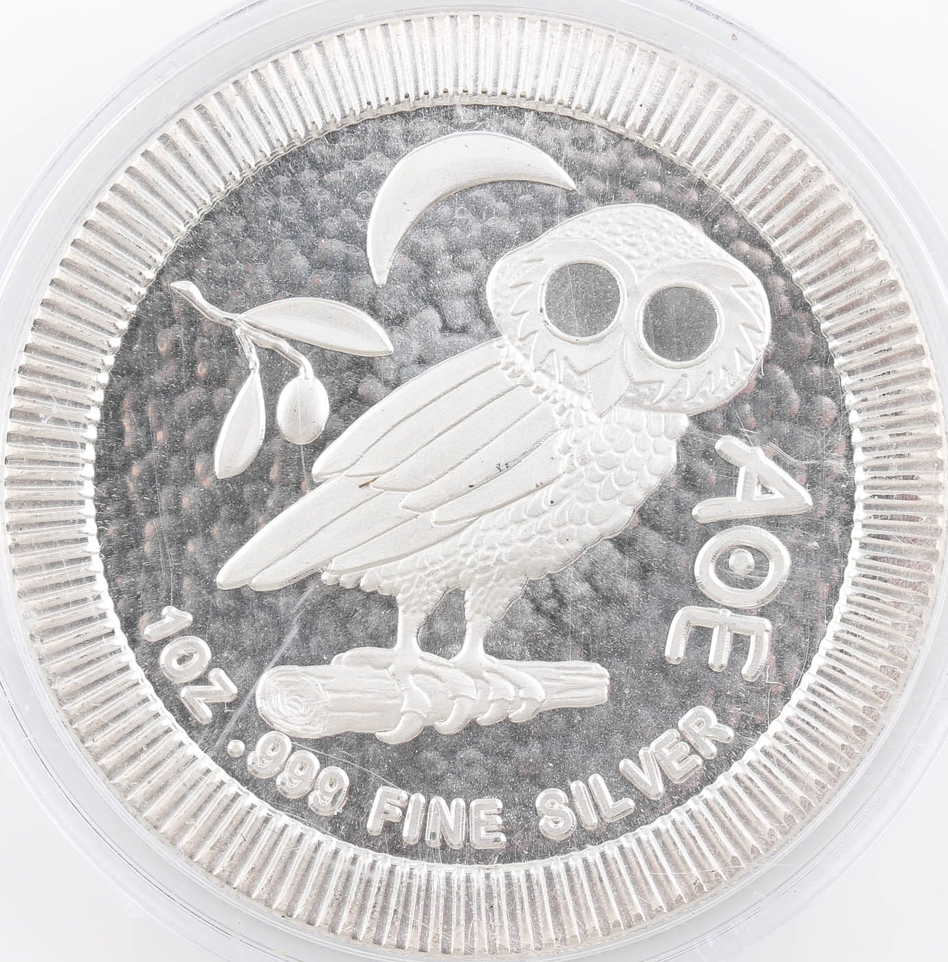 2017 New Zealand Two Dollar Silver Athenian Owl Coin