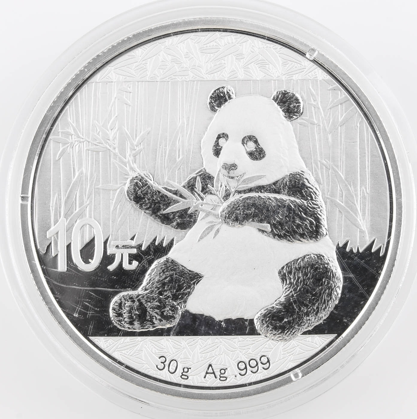 2017 Ten Yuan Chinese Silver Panda Coin
