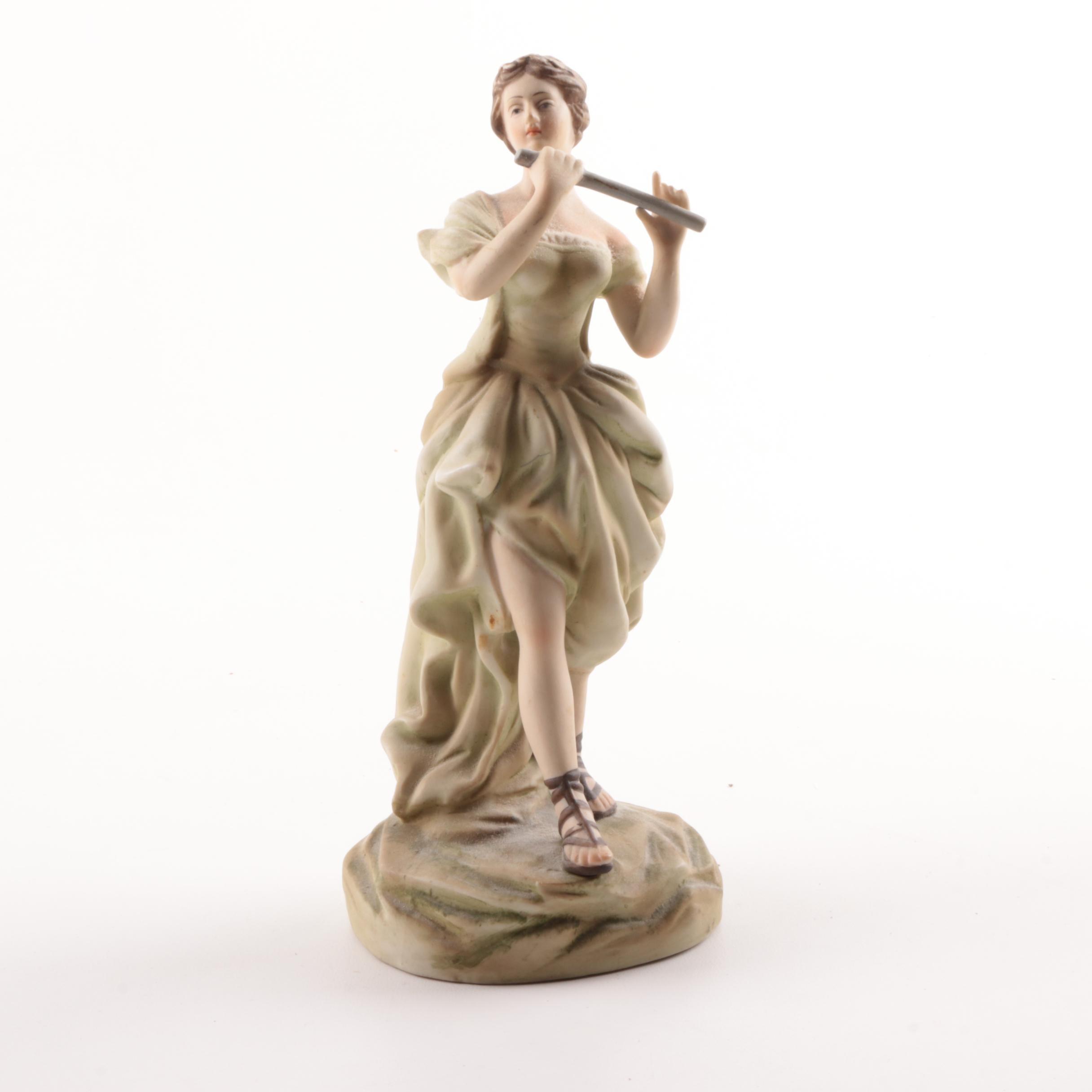 Porcelain Bisque Figurine