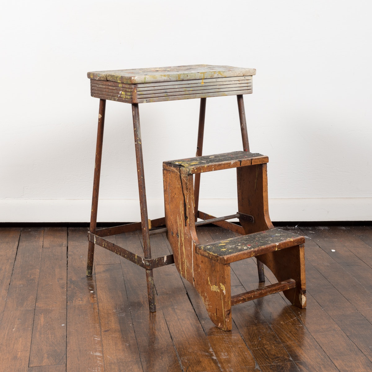 Vintage Painter's Stepstool
