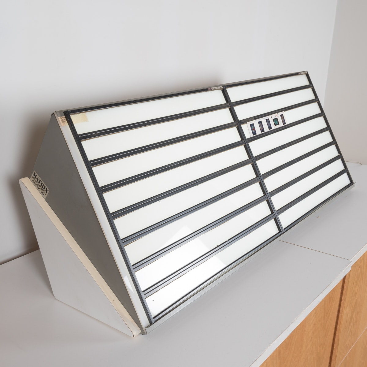 Matrix Light Box with Slide Holders