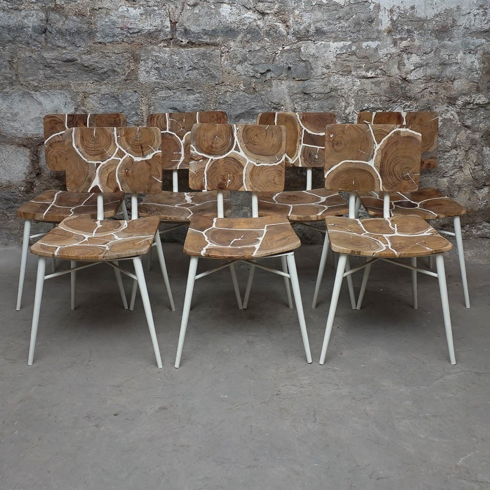 Stump Mosaic Dining Chairs