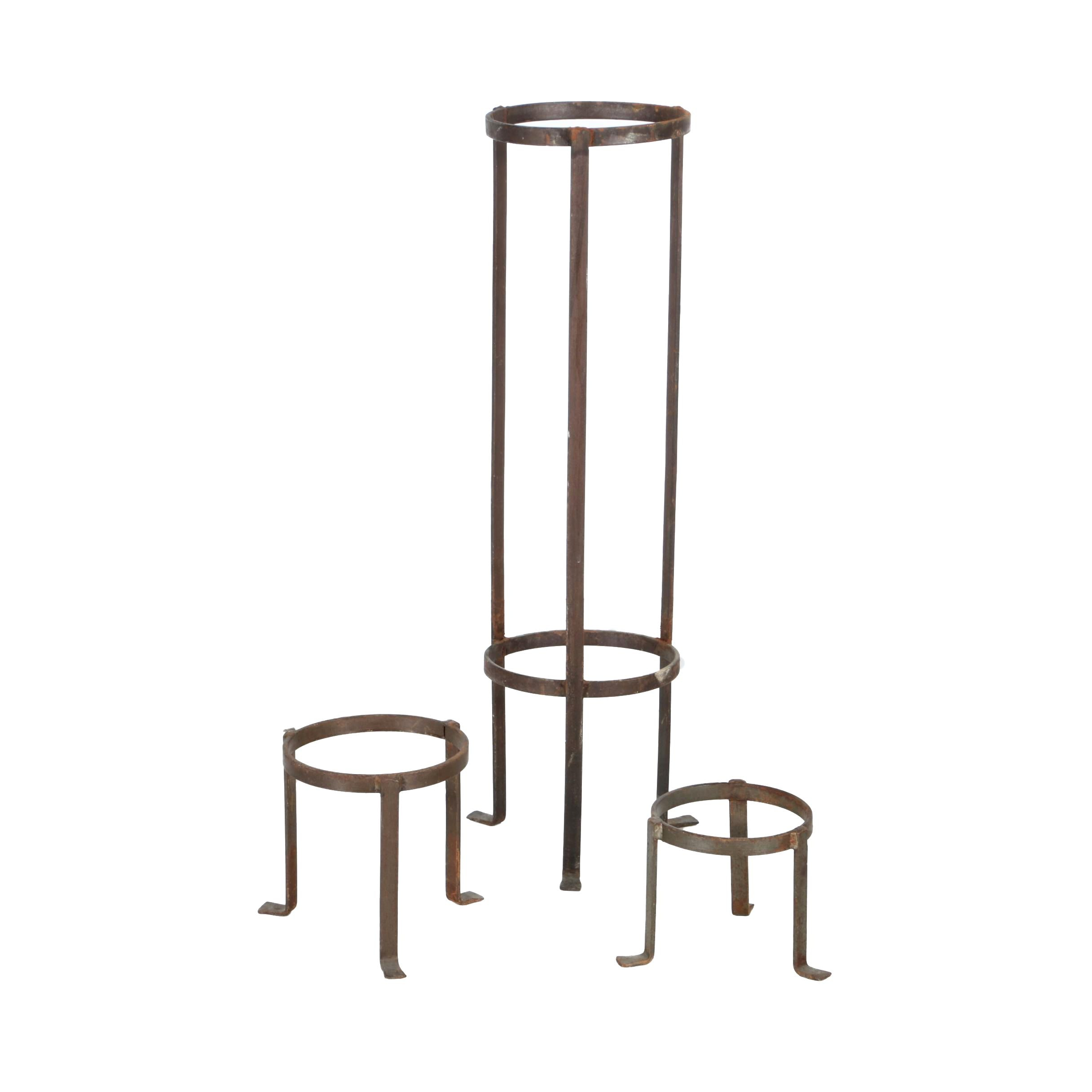 Assorted  Metal Stands