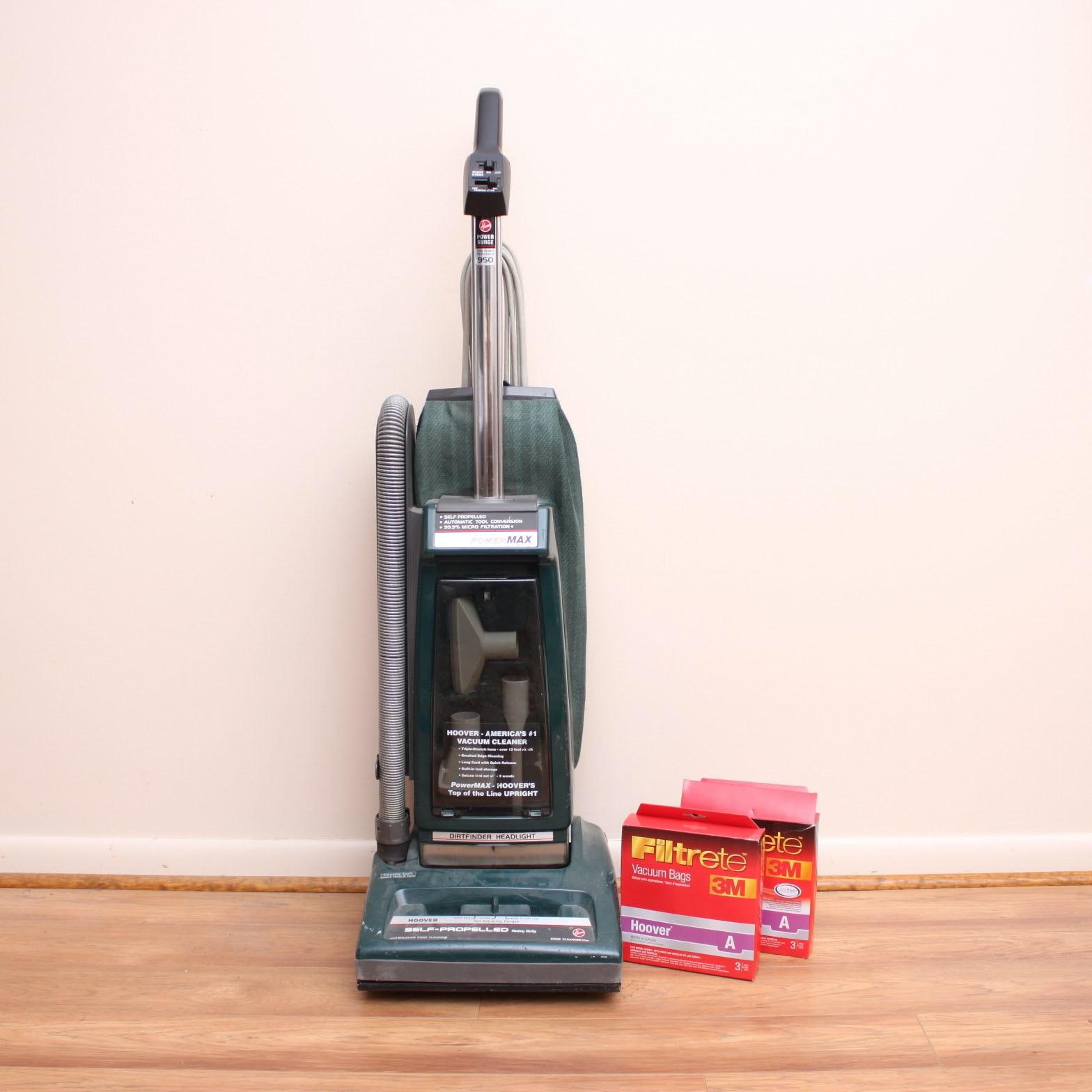 """Hoover """"PowerMax"""" Self-Propelled Heavy Duty Vacuum"""