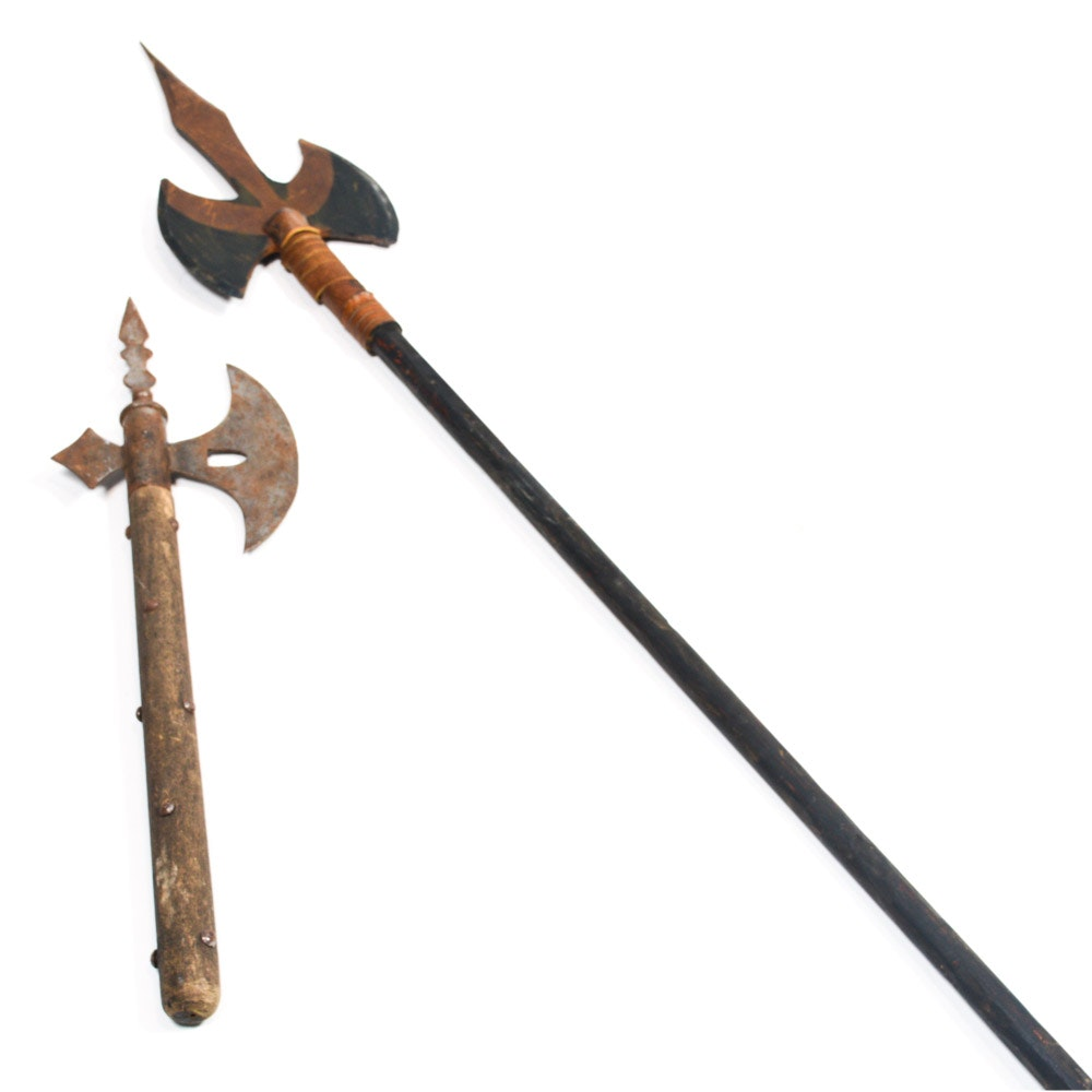 Pair of Reproduction Axes