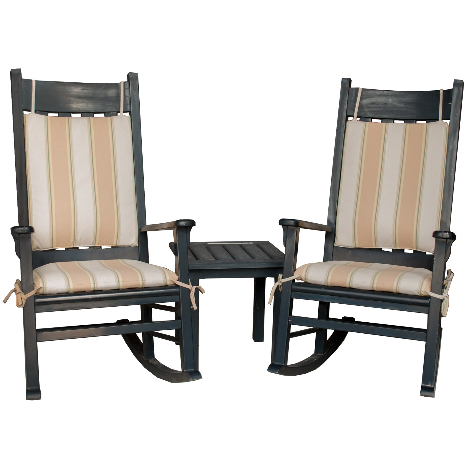 Patio Rocking Chairs and Table Set