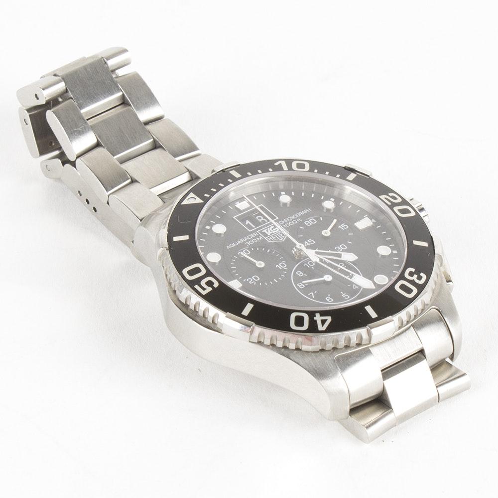 TAG Heuer Aquaracer Chronograph Wristwatch