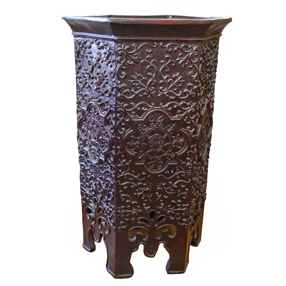 Octagonal Plant Stand