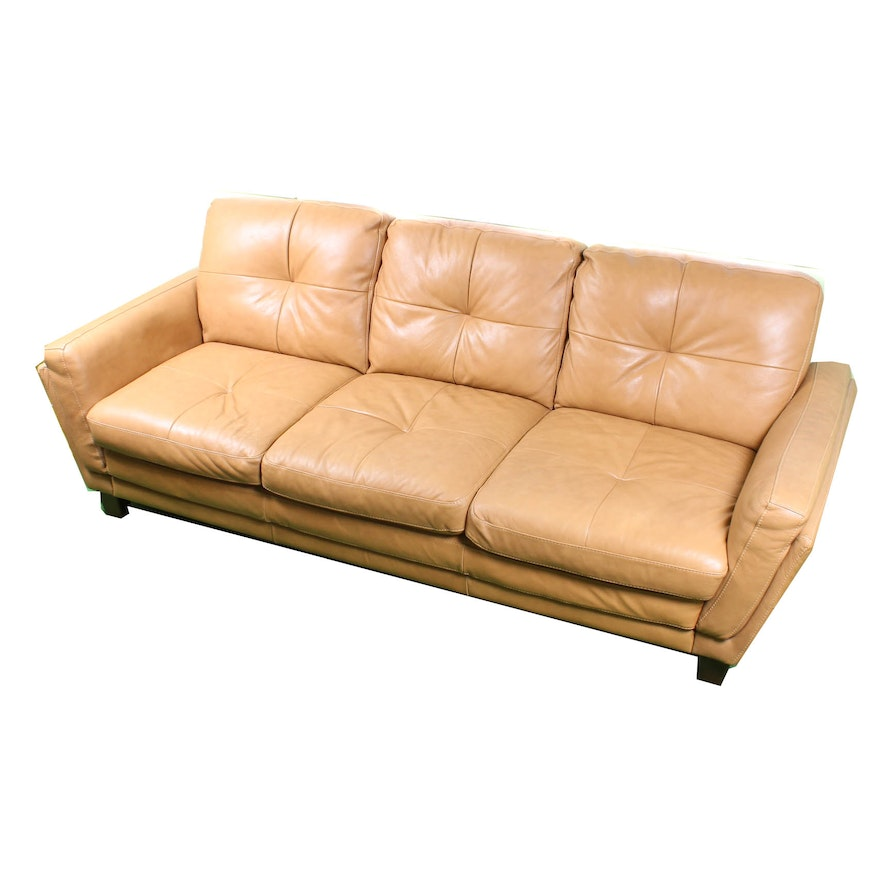 Ital Leather Sofa: Italian Leather Sofa By Soft Line S.P.A.