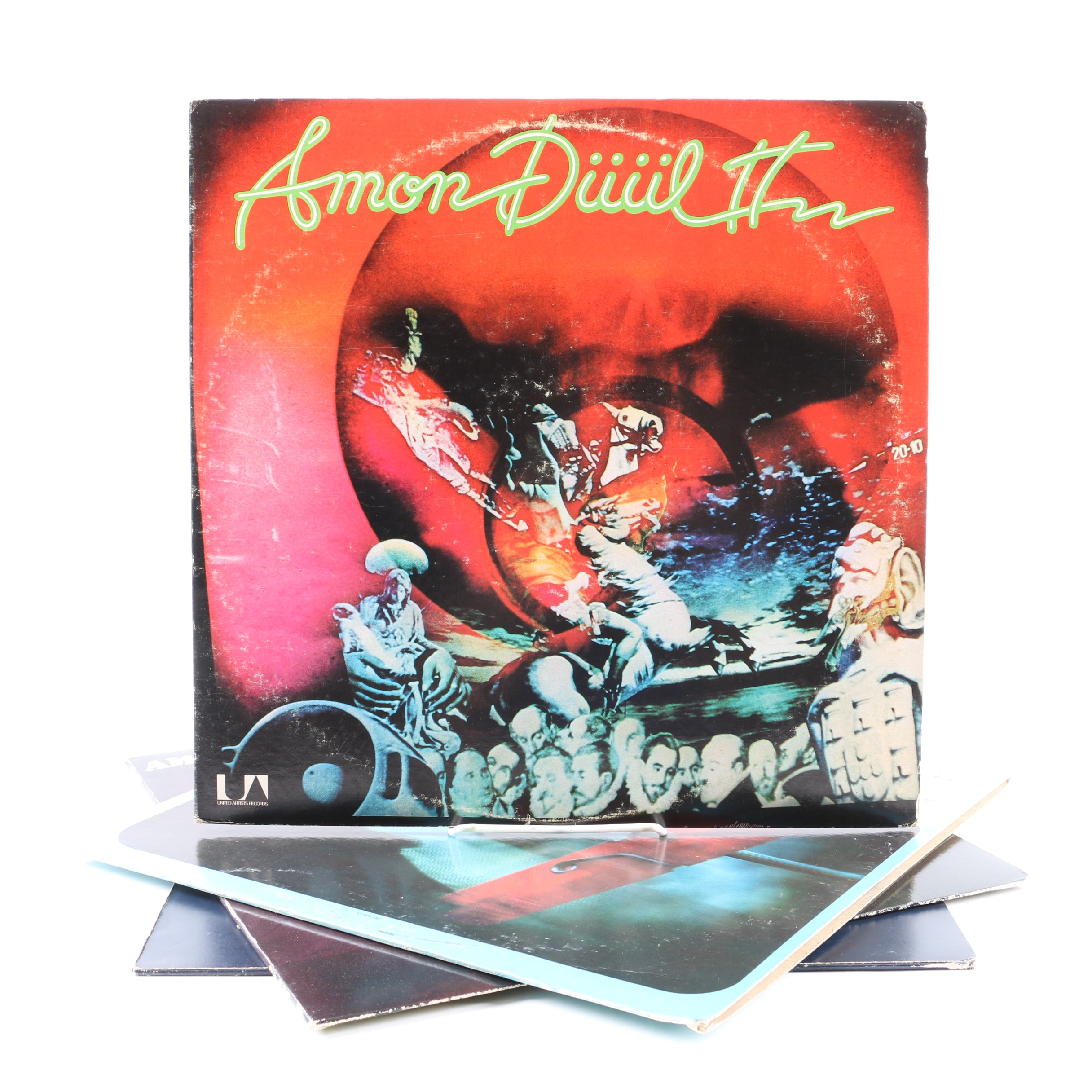 """Amon Duul II LPs Including """"Dance Of The Lemmings"""" and """"Vive La Trance"""""""