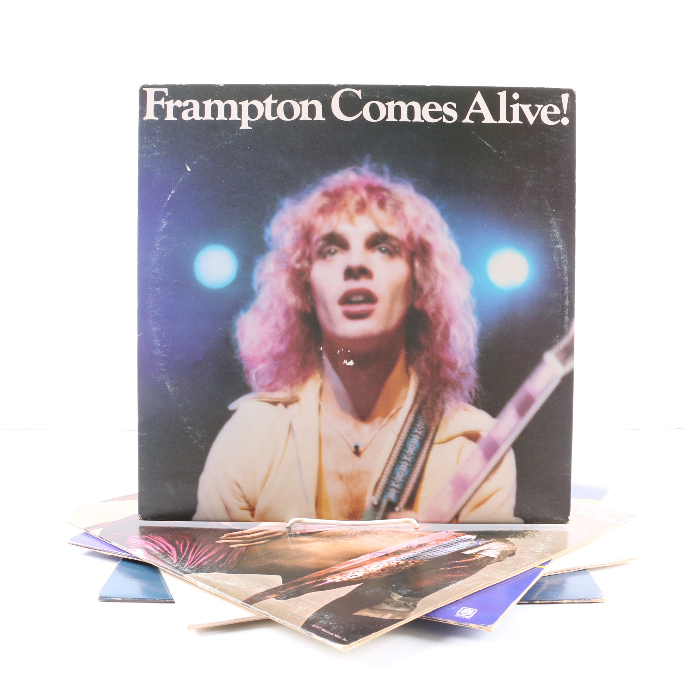 """Peter Frampton Records Including """"Frampton Comes Alive"""" and """"I'm In You"""""""