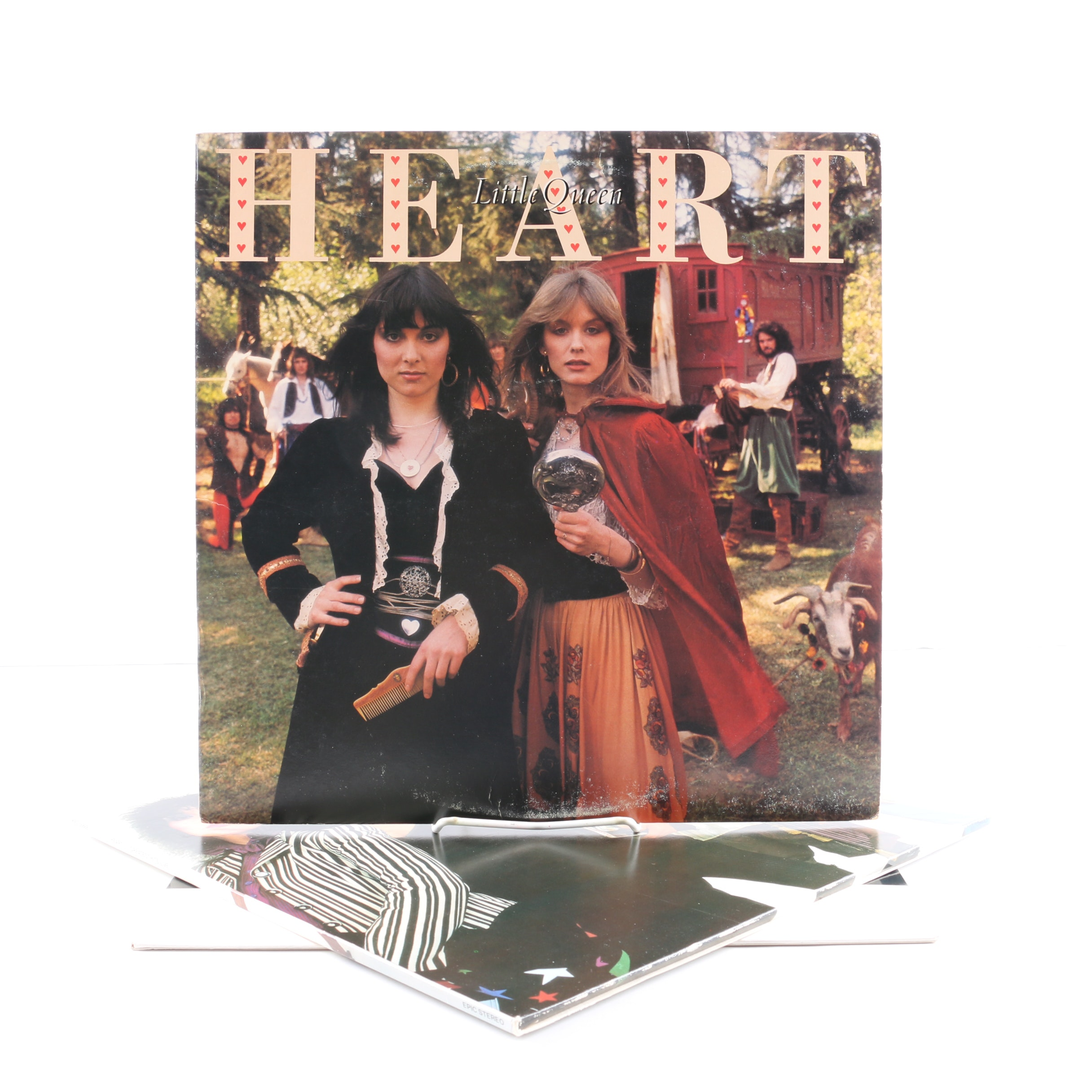 "Heart Records Including ""Little Queen"" and ""Bad Animals"""