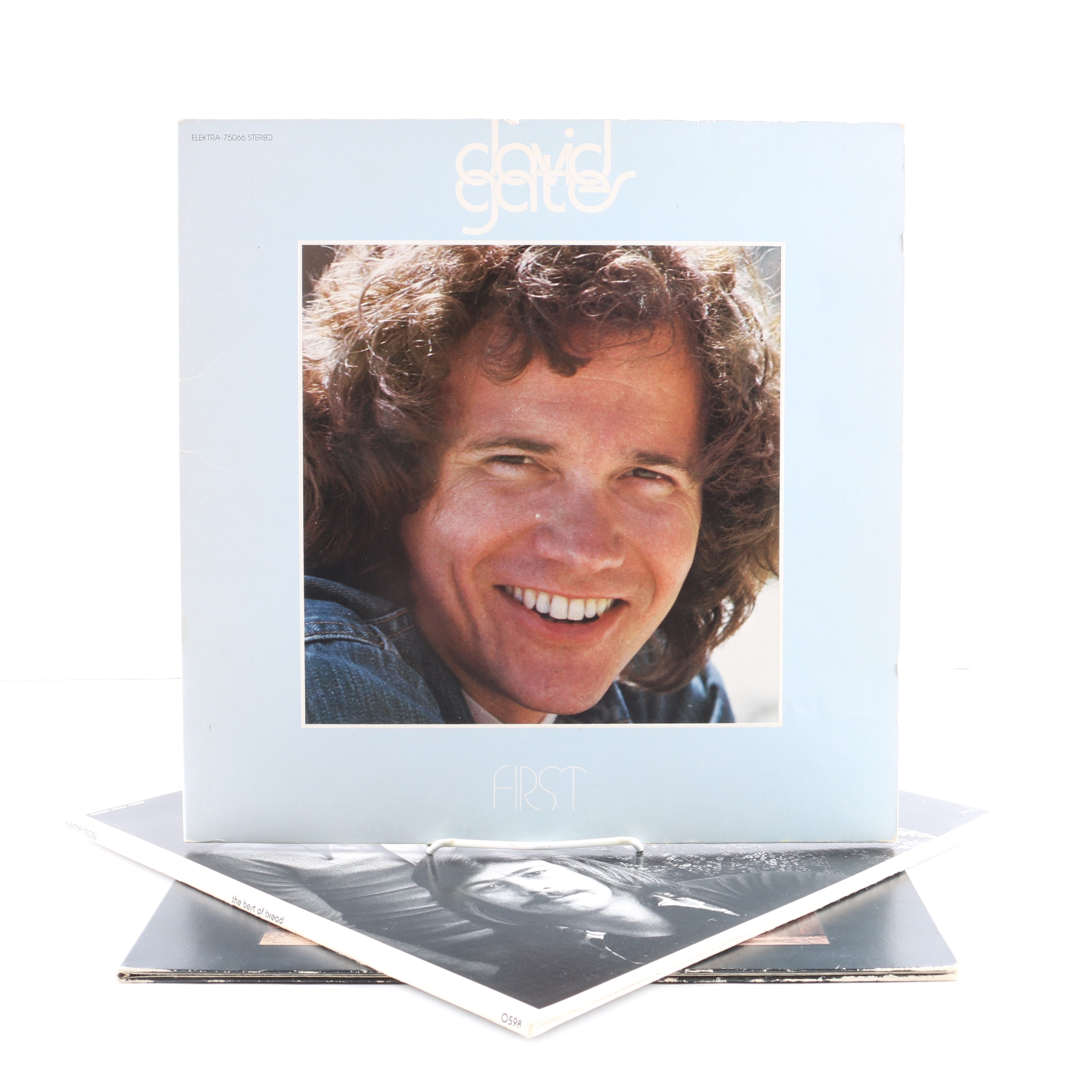 """David Gates and Bread LPs Including """"First"""""""