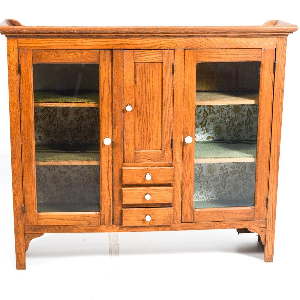 Oak Kitchen Cupboard Top
