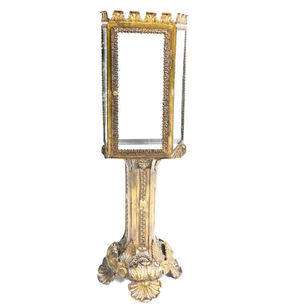 Ornate Cast Metal Display Stand