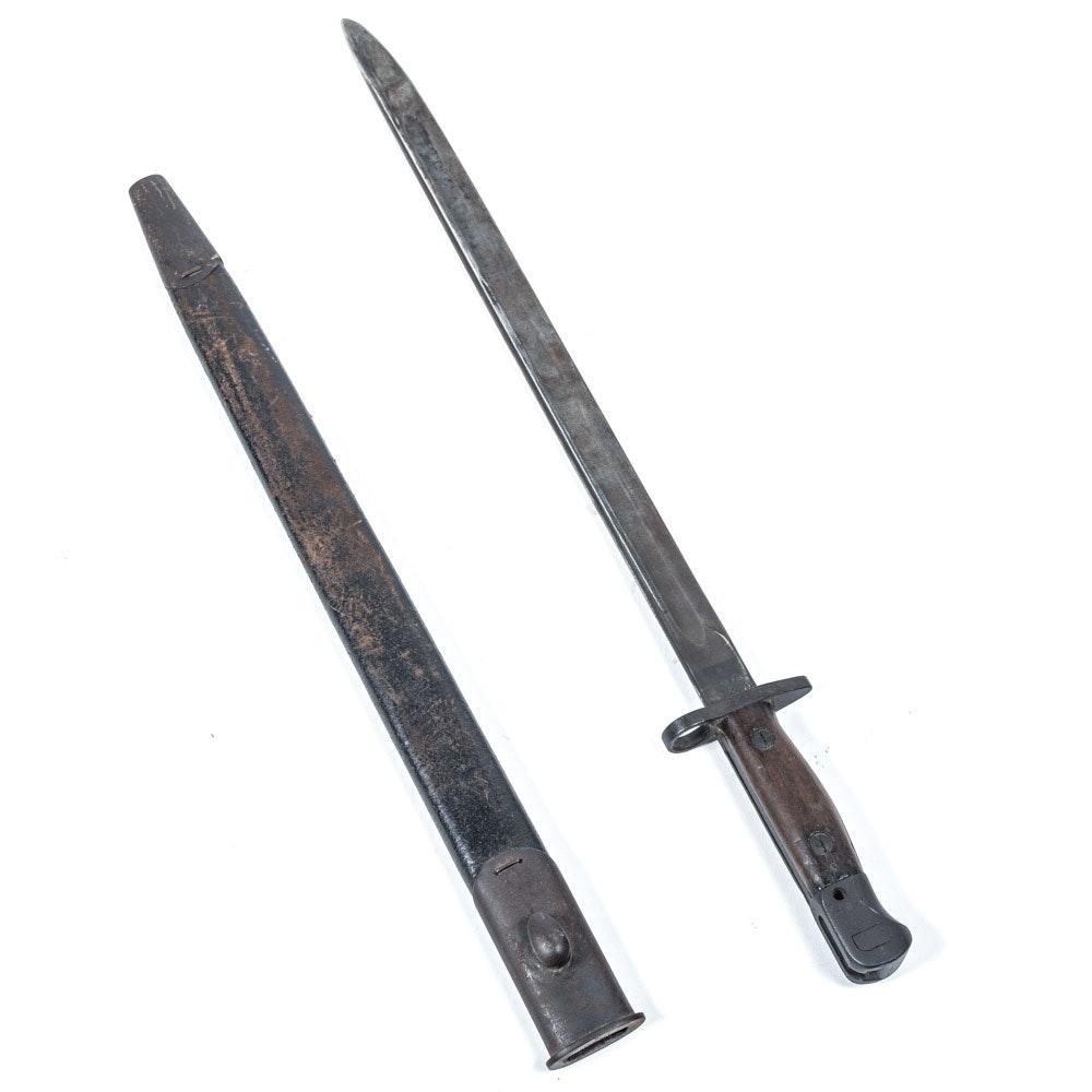 Vintage WWI British Model 1907 Bayonet