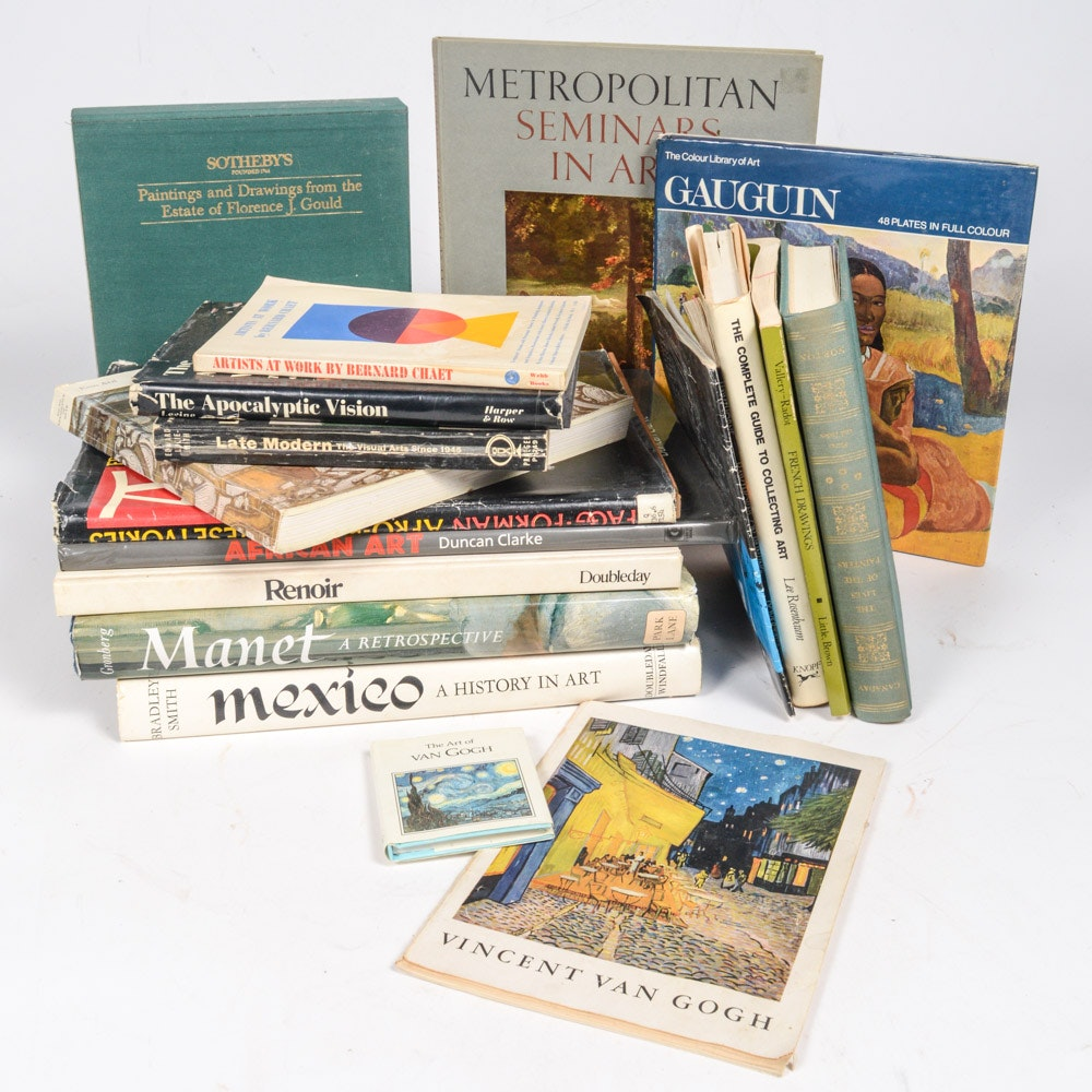 Eclectic Art Book Collection