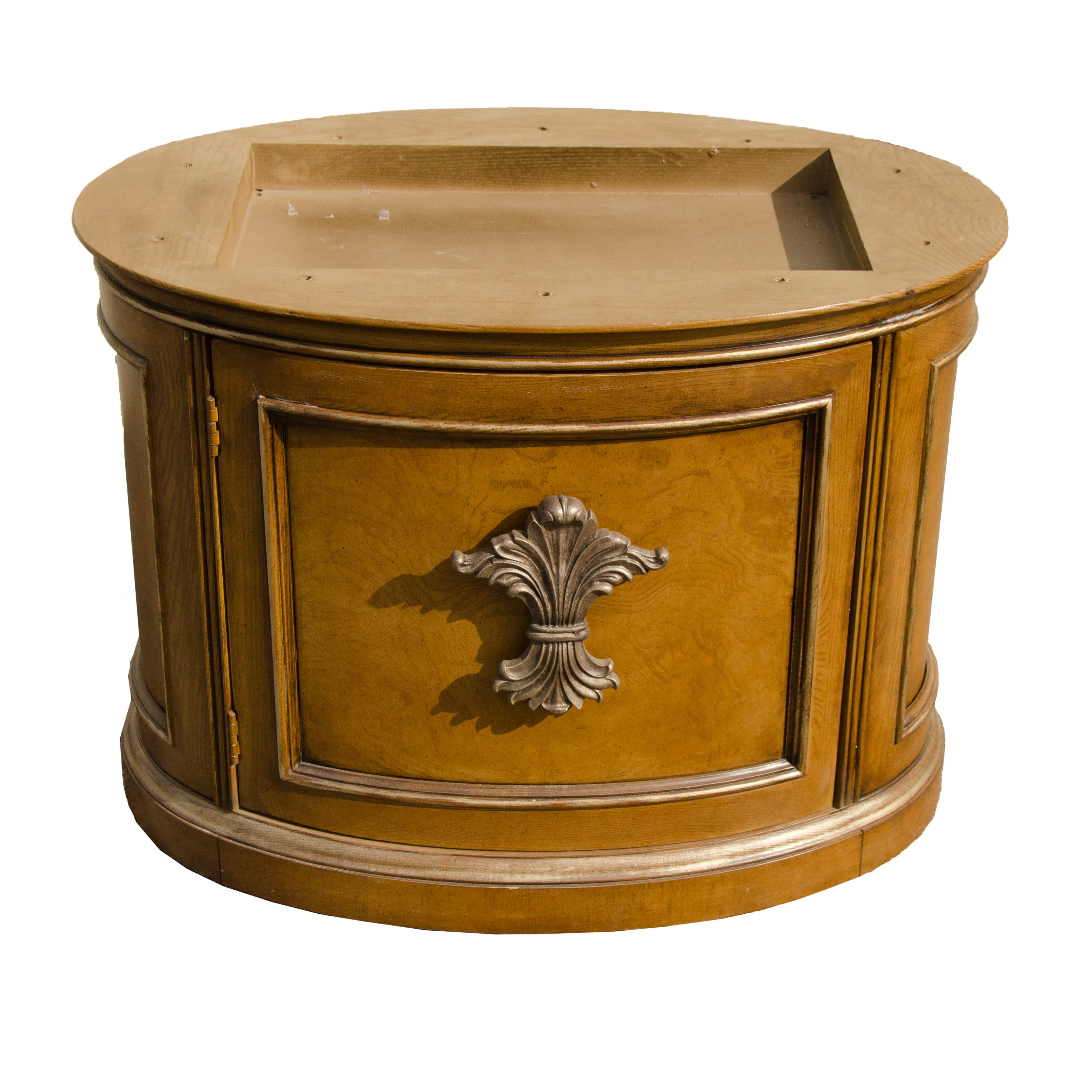 Vintage Neoclassical Style Nightstand Frame