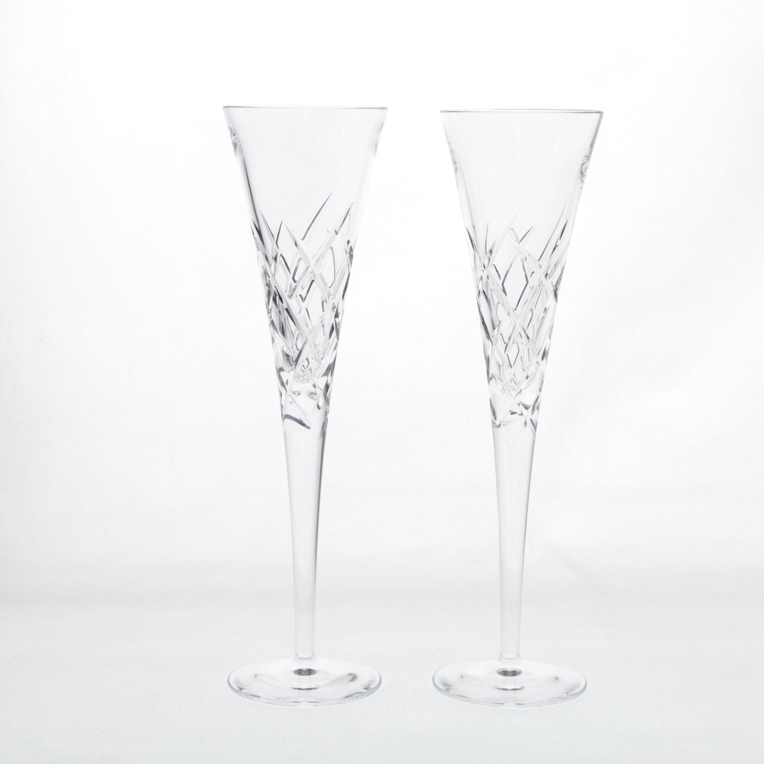 Vera Wang Wedgwood Champagne Flutes