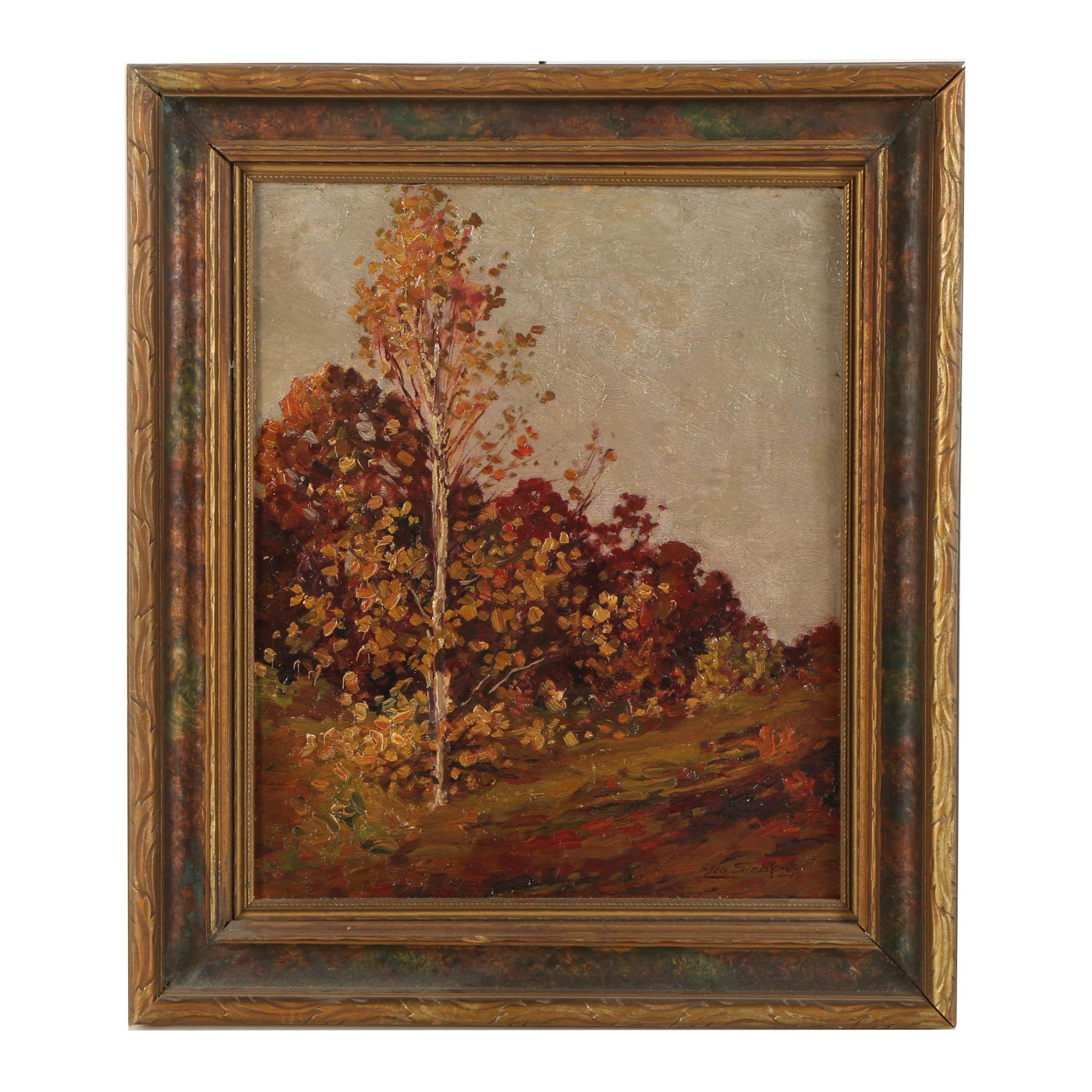 Leo Sielke Jr Oil Painting