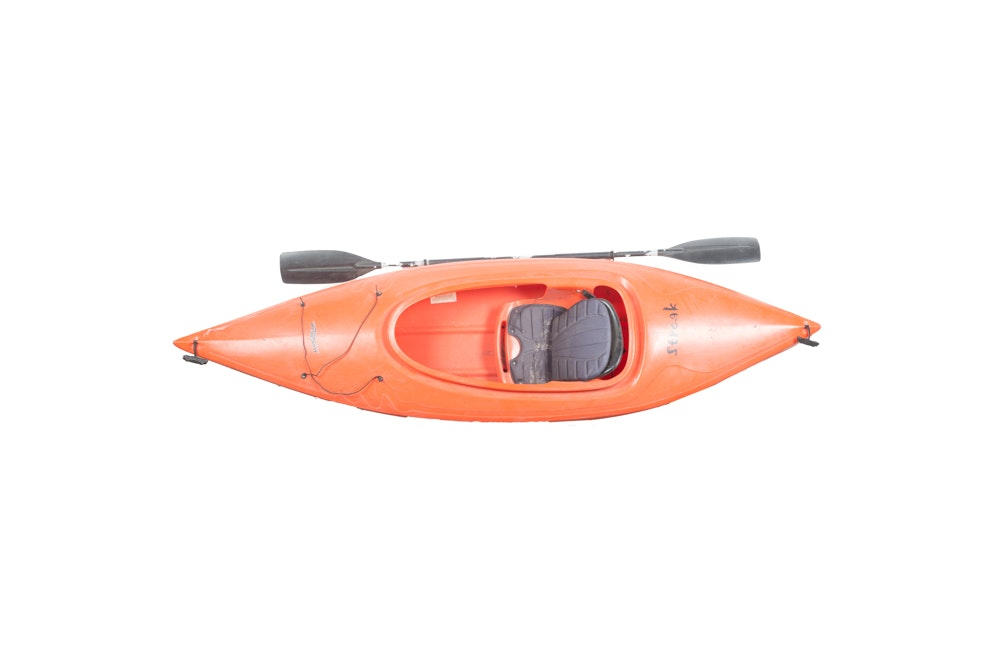 "Perception ""Streak"" Orange Kayak"