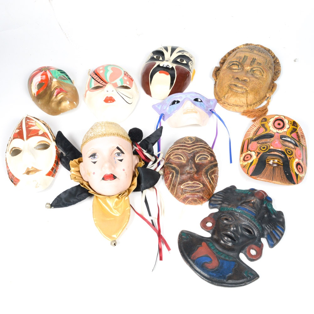 Decorative Mask Collection