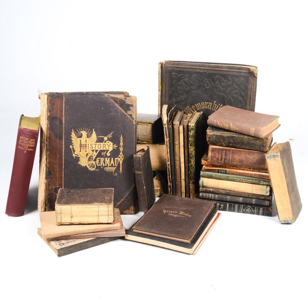 Antique German Language Books