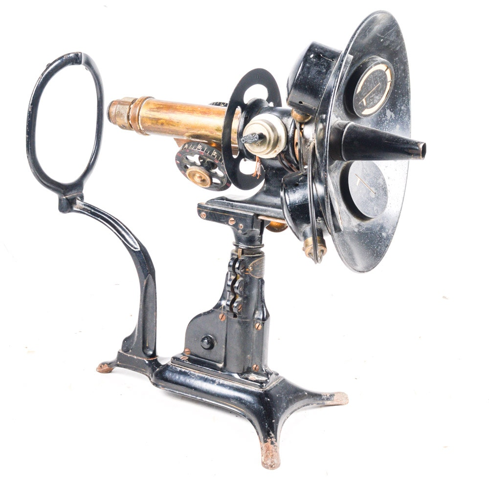 F.A. Hardy & Co. Ophthalmometer Optical Device