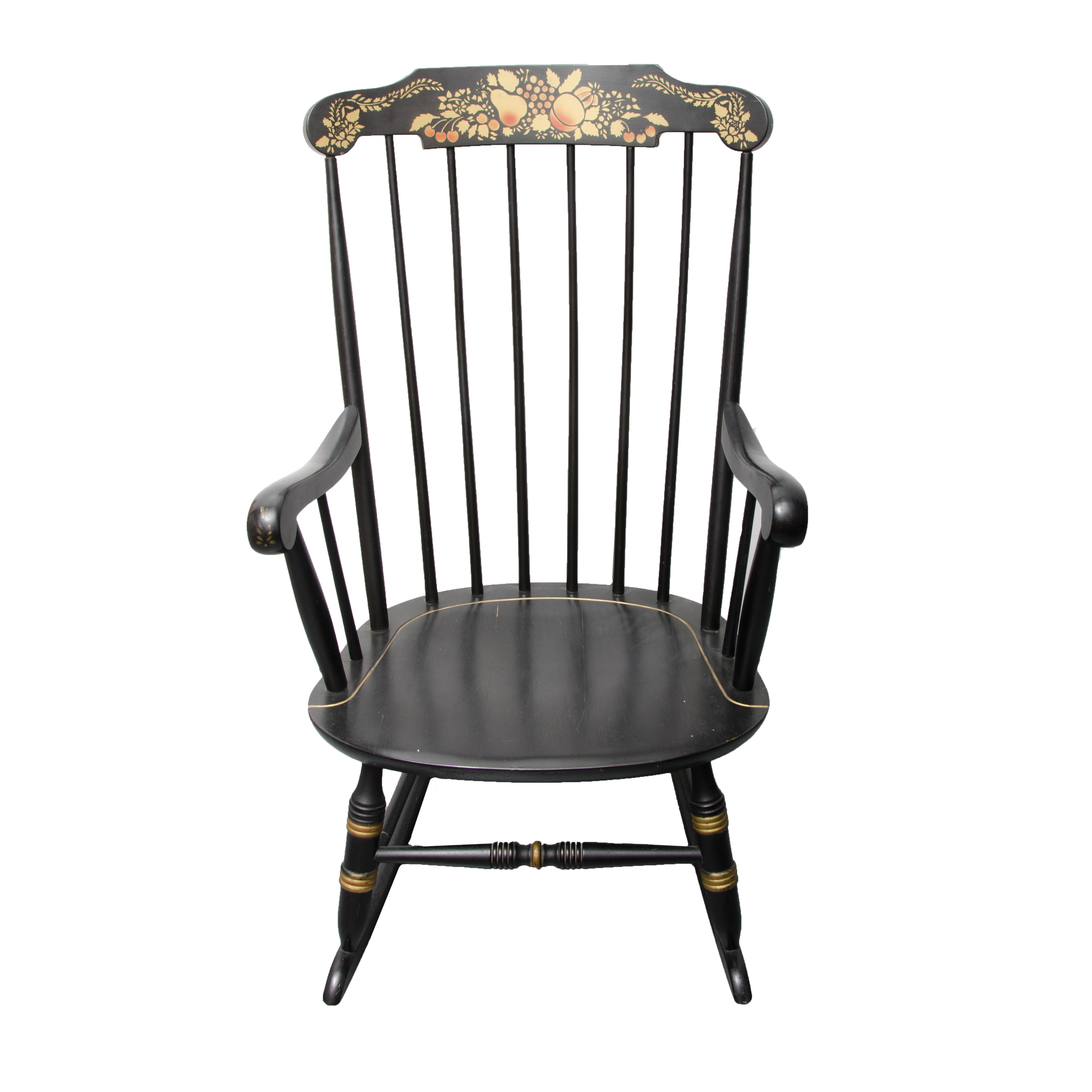 Hitchcock Style Rocking Chair