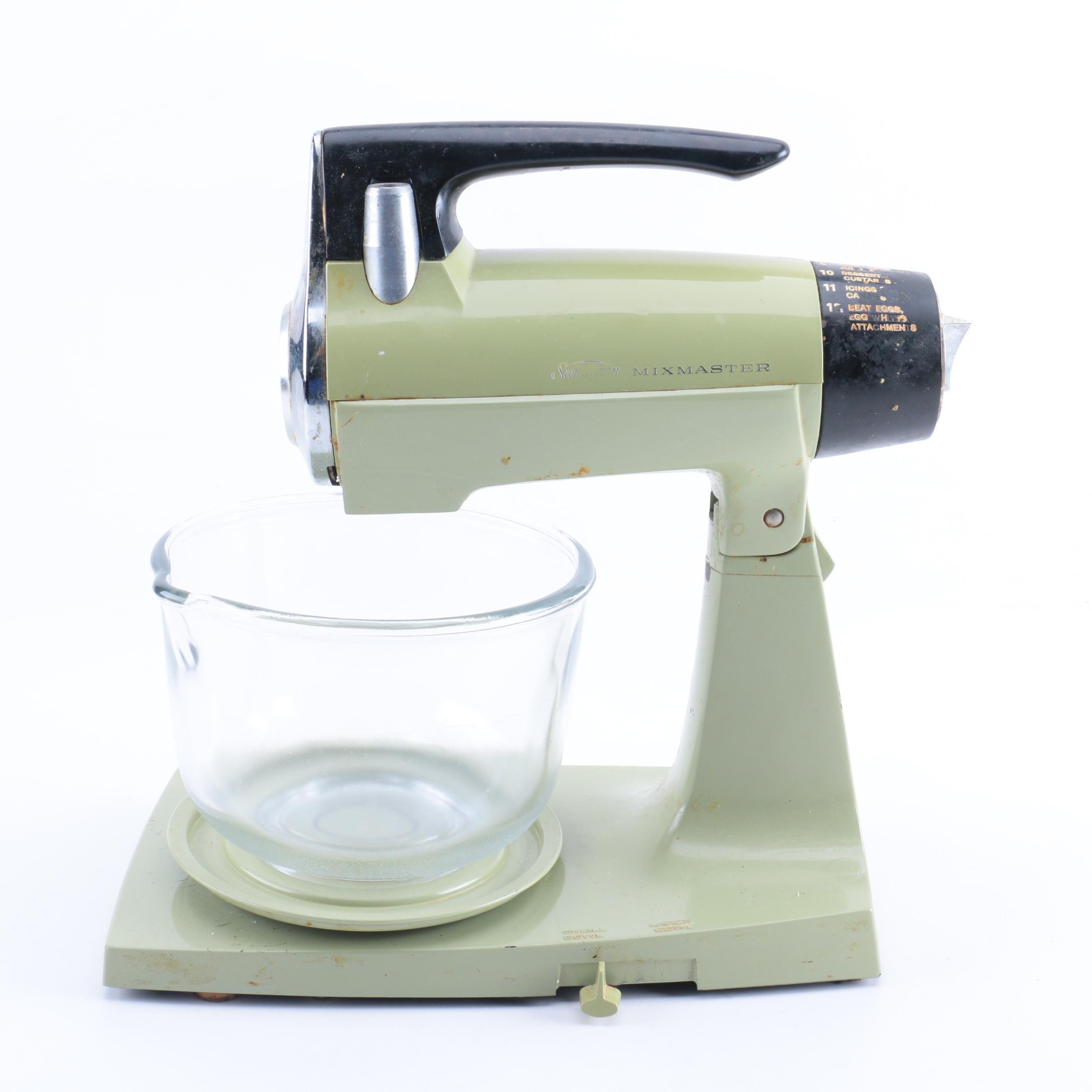 sunbeam   mixmaster   stand mixer vintage kitchen appliances auctions   used kitchen appliances in      rh   ebth com