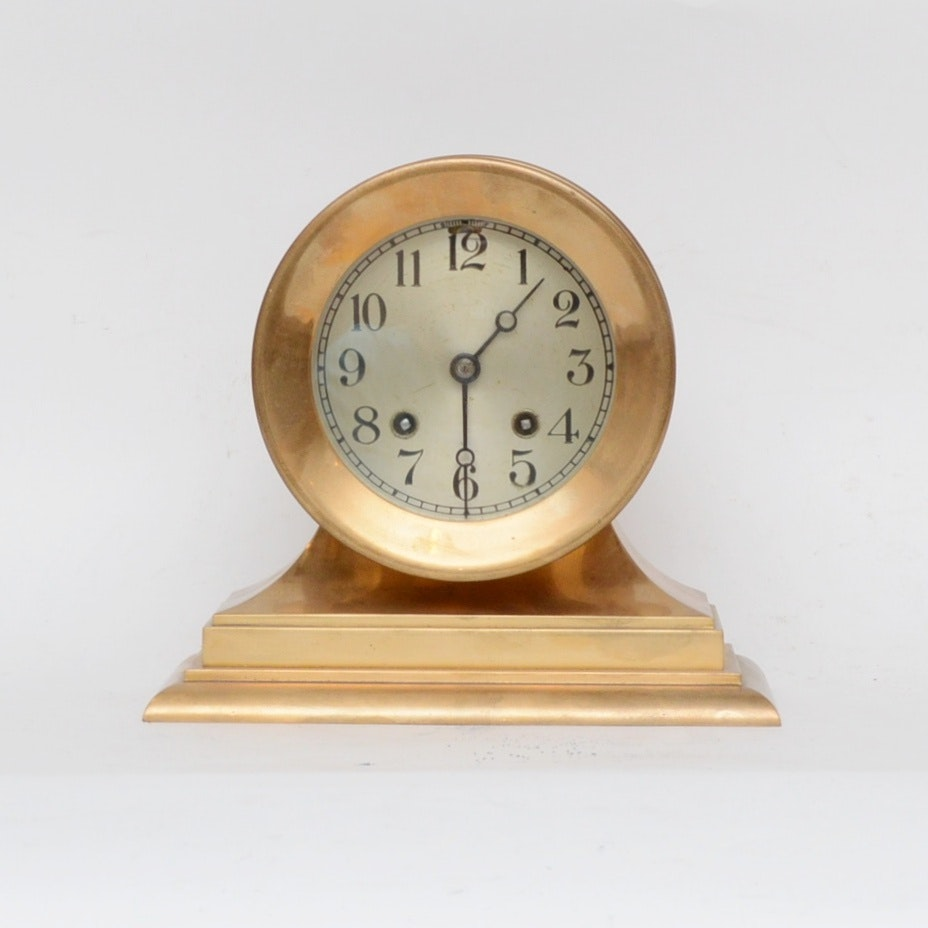 Chelsea Ship's Bell Clock, circa 1925-1929