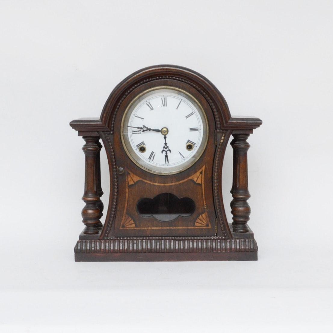 Antique German Mantel Clock