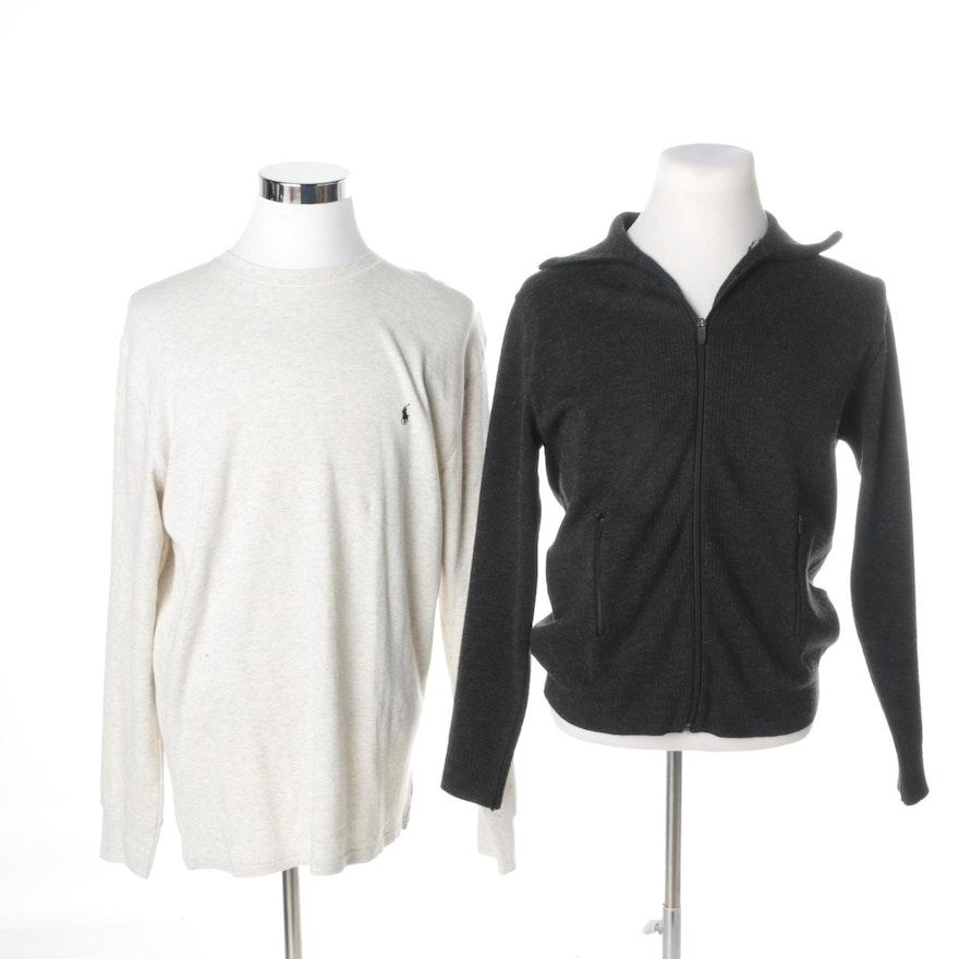 Men39s polo ralph lauren sleepwear shirt and zara man full for Robe chemise ralph lauren
