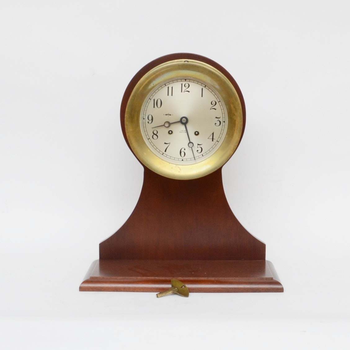Chelsea Ship's Bell Clock, circa 1950-1954