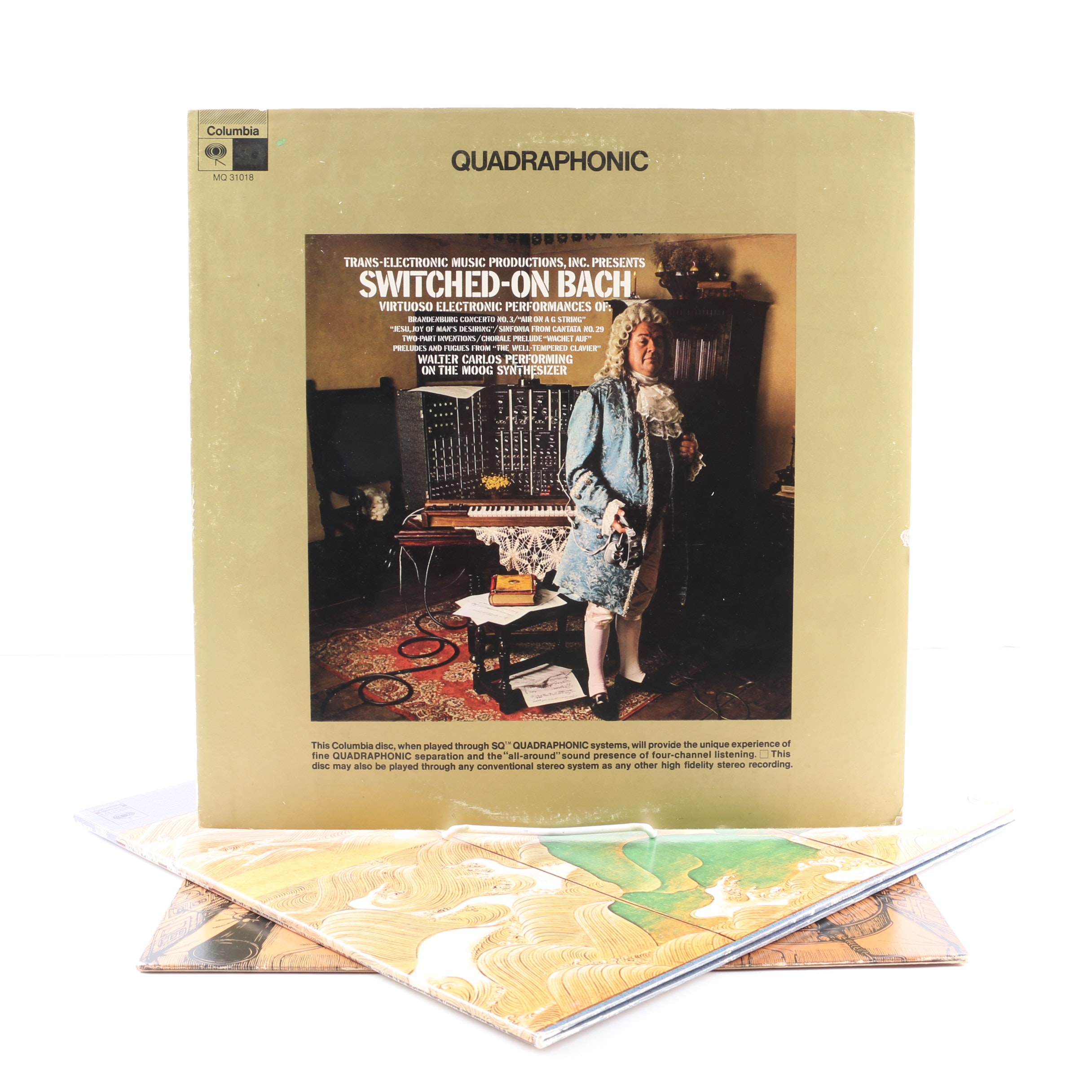 Wendy Carlos LPs Including Half-Speed Mastered and Quadraphonic Pressings