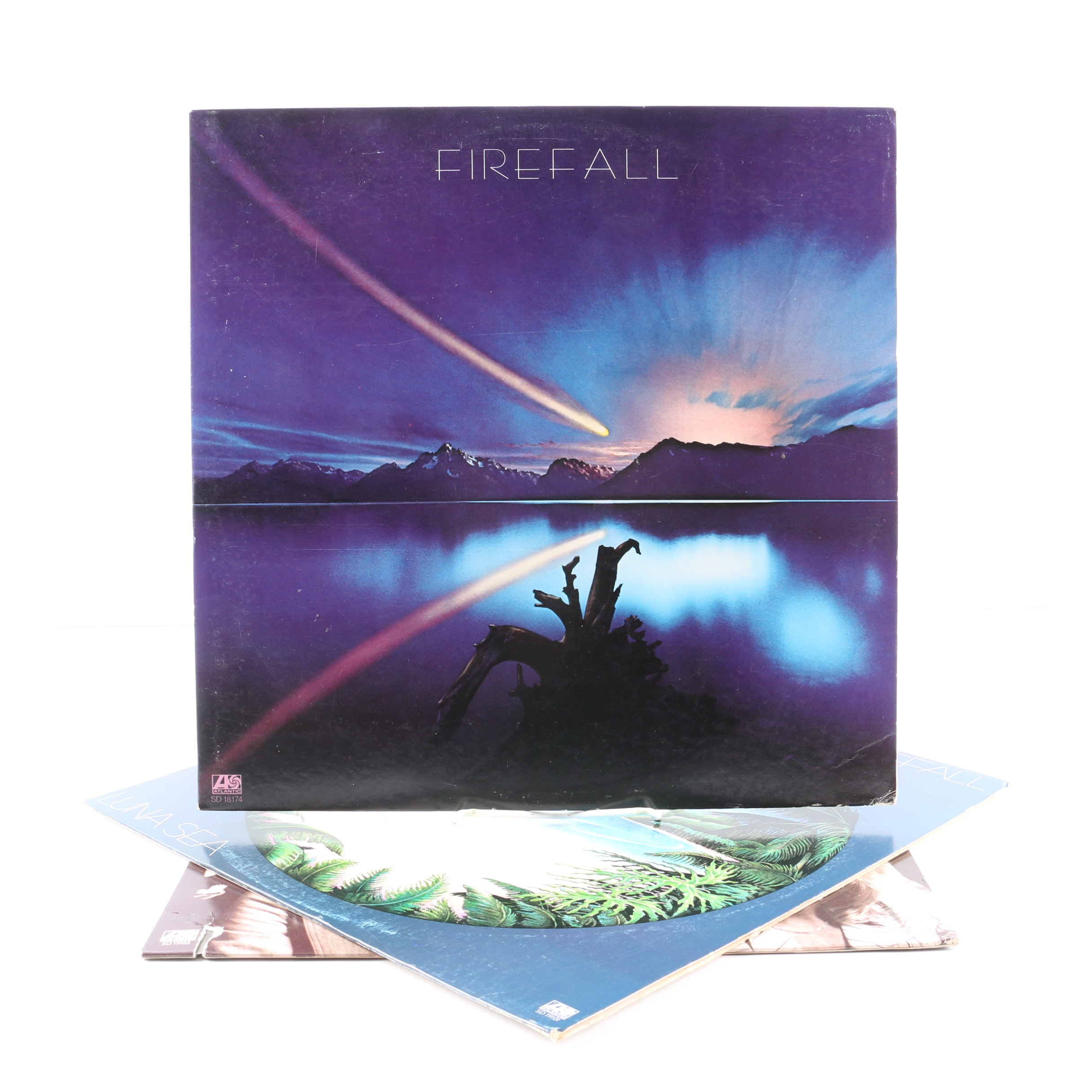 "Firefall Records Including ""Elan"" and ""Luna Sea"""